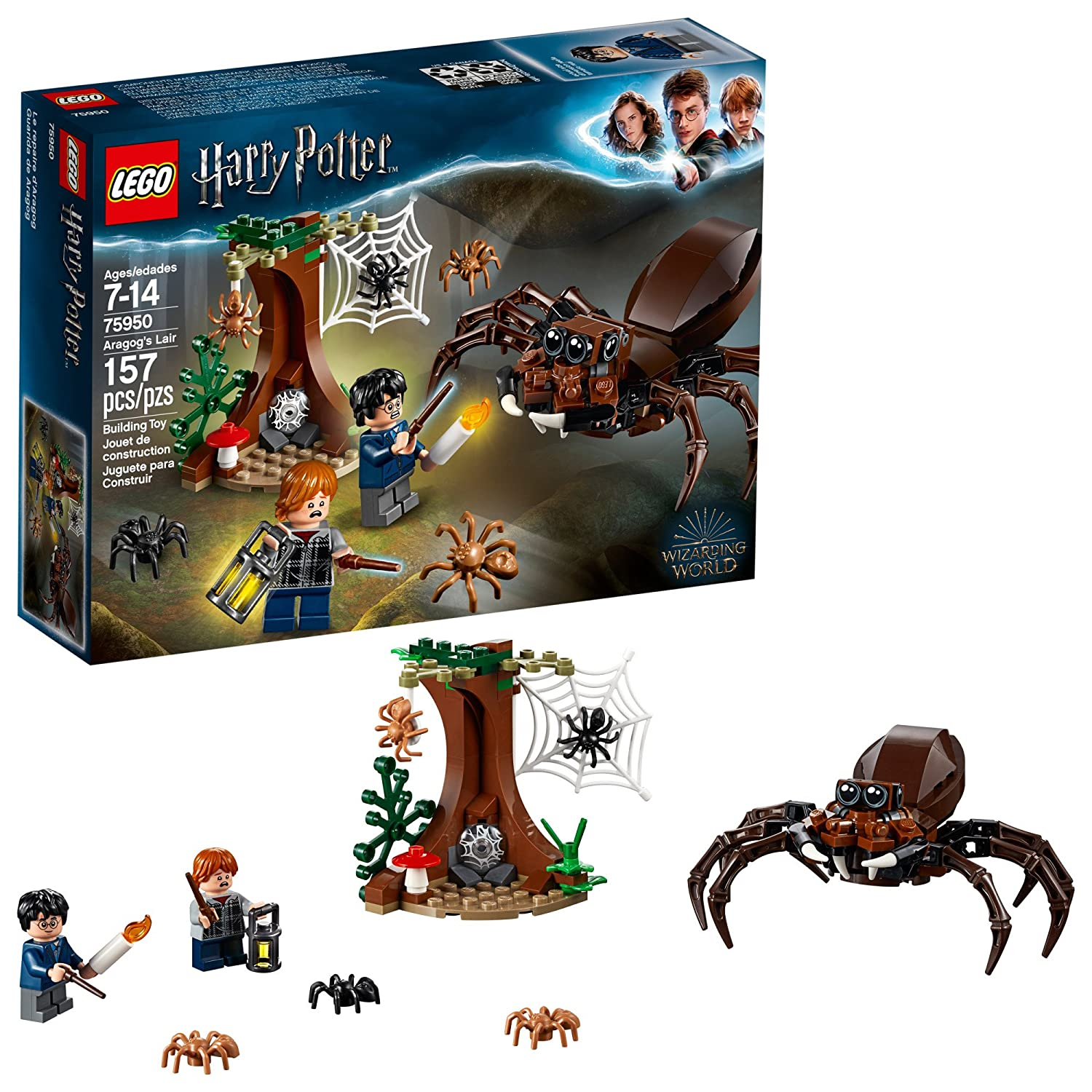 LEGO Harry Potter and The Chamber of Secrets Aragog's Lair 75950 Building Kit (157 Pieces) 6212635