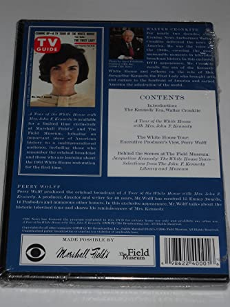 9bb41f0c2 Amazon.com: A Tour of the White House with Mrs. John F. Kennedy: Jacqueline  Kennedy, Perry Wolff, Walter Cronkite: Movies & TV