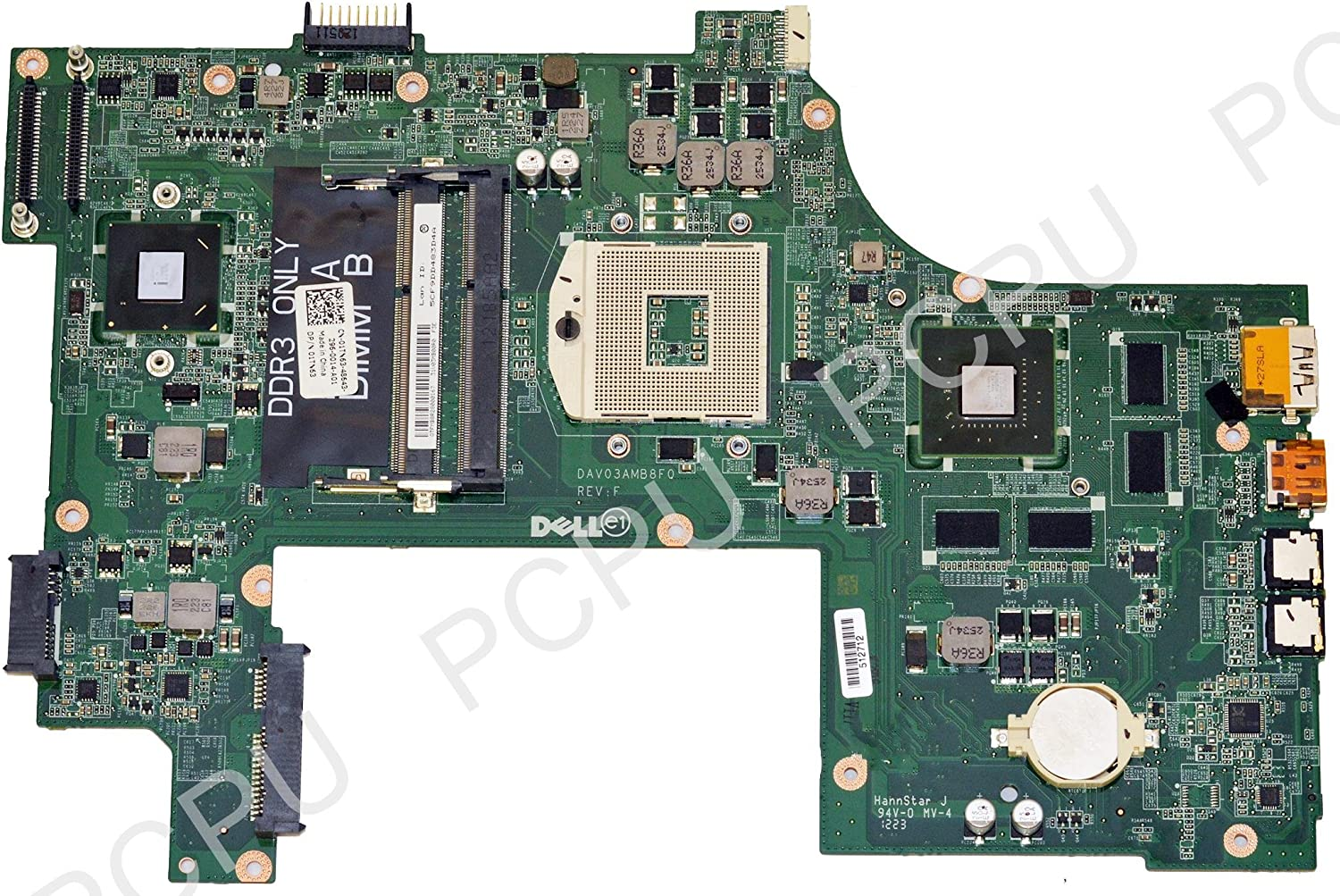 1TN63 Dell Vostro 3750 Intel Laptop Motherboard s989