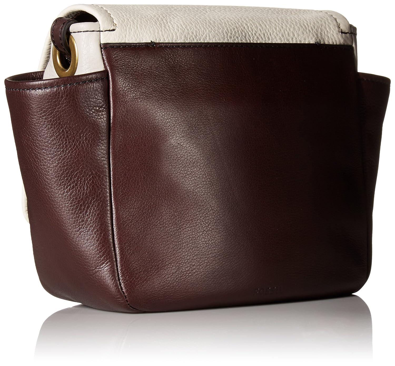 2fec32243 Fossil AVA CROSSBODY BAG, Cordovan Color Block: Handbags: Amazon.com