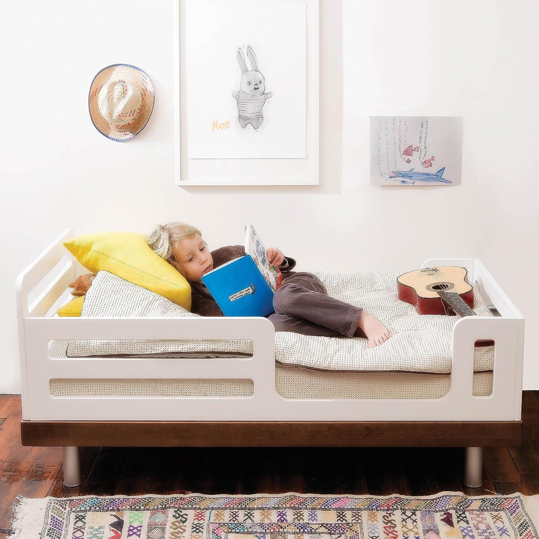 amazoncom  oeuf classic toddler bed walnut  modern toddler  - amazoncom  oeuf classic toddler bed walnut  modern toddler beds  baby