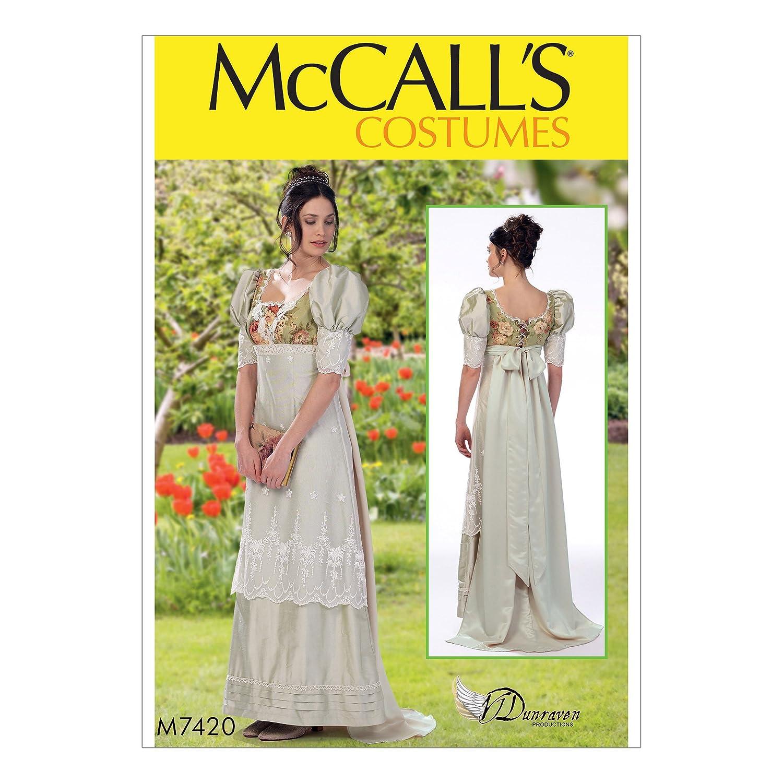 McCall Patterns M7420E50 Misses' Costume McCall Pattern Company