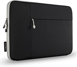 Runetz MacBook Pro 13 inch Sleeve 2020 2019 2018 A2289 A2159 Soft Neoprene MacBook Air 13 inch Sleeve A2179 A1932 Case Cover with Accessory Pocket, Laptop Sleeve 13 inch, Black