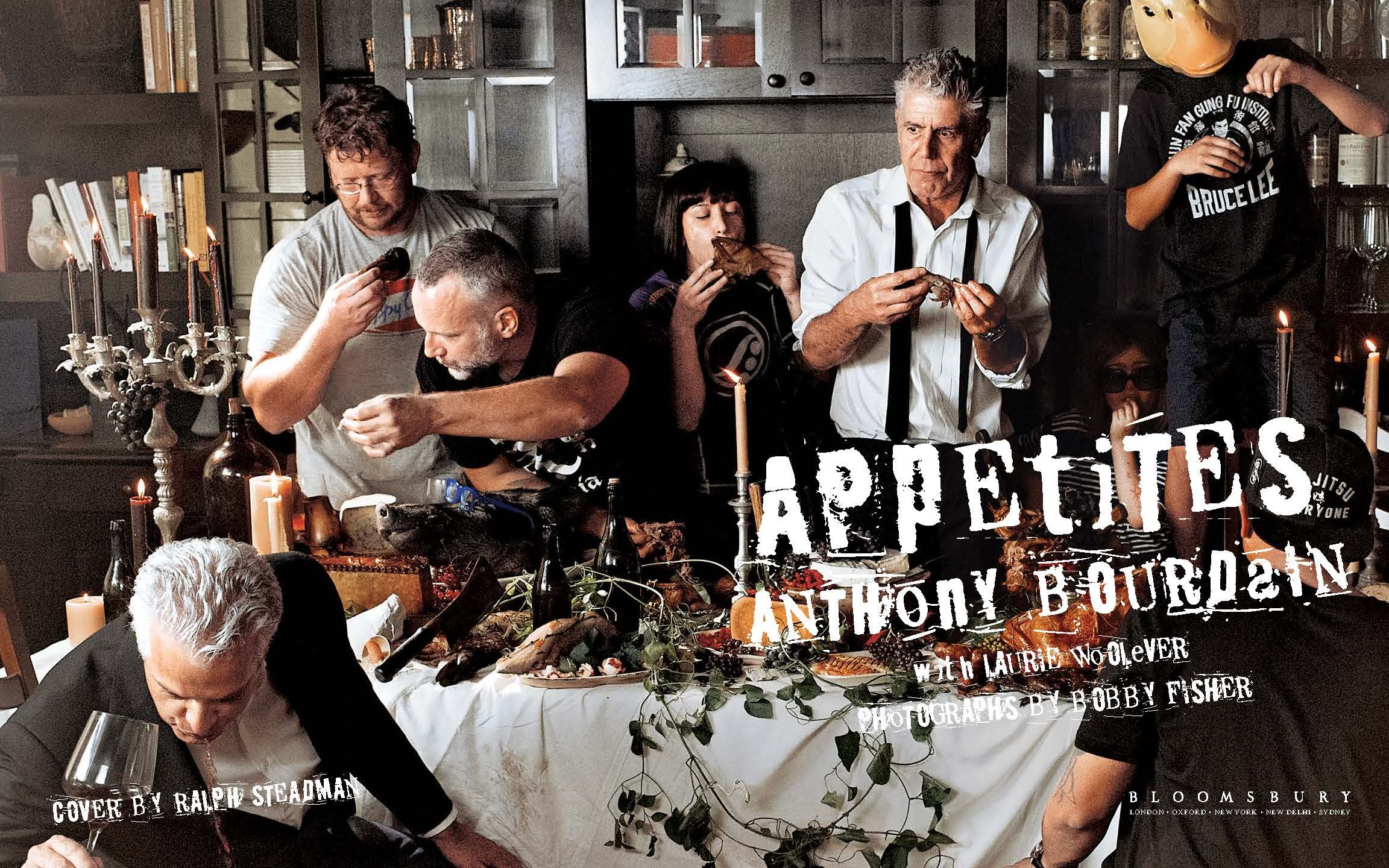 appetites a cookbook anthony bourdain