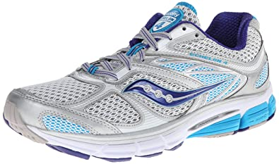 Womens Shoes Saucony Echelon 4 Silver/Blue