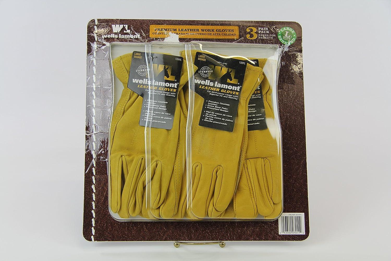 Lamont premium leather work gloves