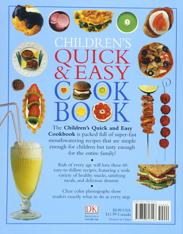 Childrens Quick And Easy Cookbook Angela Wilkes 0884667321322 Amazon Books