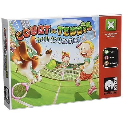 Asmodee Monster games - MUL01 - Jeu de Societe - Cours de Tennis - Multiplication