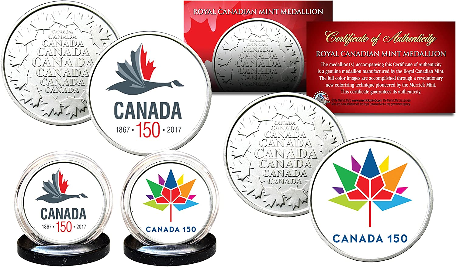 2017 Canadian Mint Coin Set-150 Year Celebration