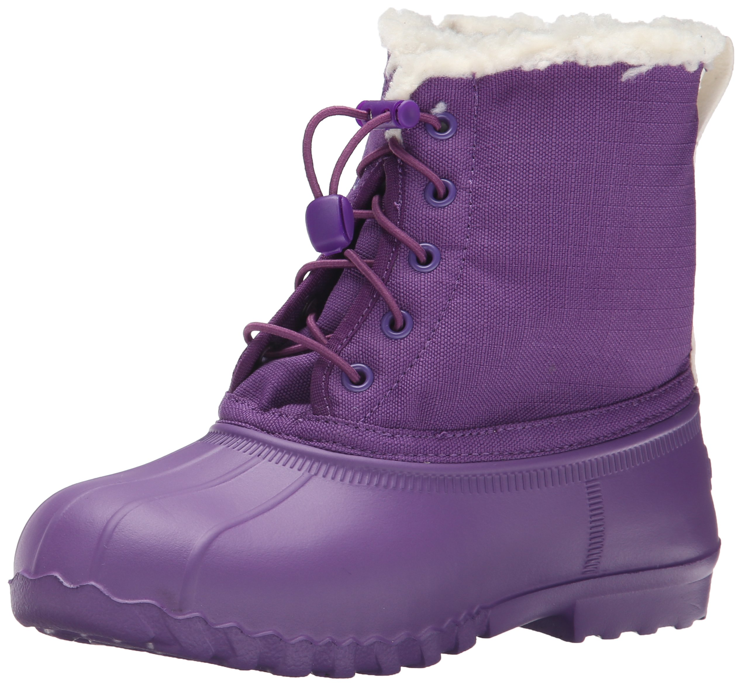native Jimmy Winter Junior Lightweight Boot (Little Kid), Orchid Purple/Orchid Purple, 2 M US Little Kid