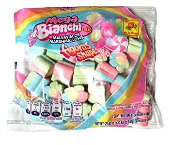 Bianchi Figure Shape Marshmallows (Mega)
