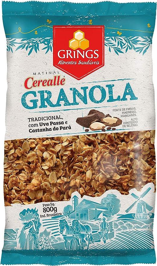 Cerealle Granola Tradicional Grings 800G por Grings