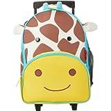 Skip Hop Zoo Little Kid & Toddler Rolling Luggage, Jules Giraffe