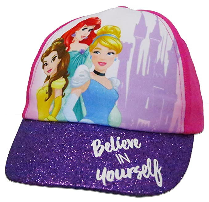 Image Unavailable. Image not available for. Color  Disney Girls Princess  Girls Cotton Baseball Cap ... f8486f39b5c