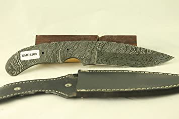 Payne Bros Custom Knives Damascus Blade Blanks with Basic Sheath/Knife  Making/Knife Kits /