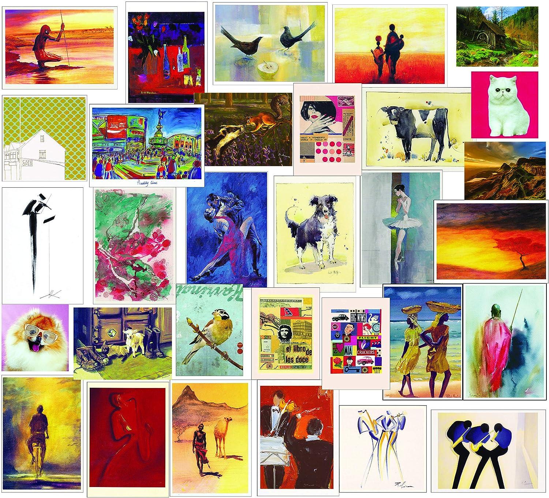 Pack de 30 felicitaciones, tarjetas de cumpleaños para todas las ocasiones