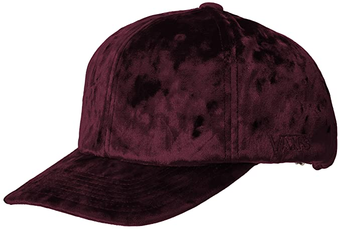 Vans Women s Glazier Hat Velvet Burgundy One-Size at Amazon Men s ... 39d8a1f0356