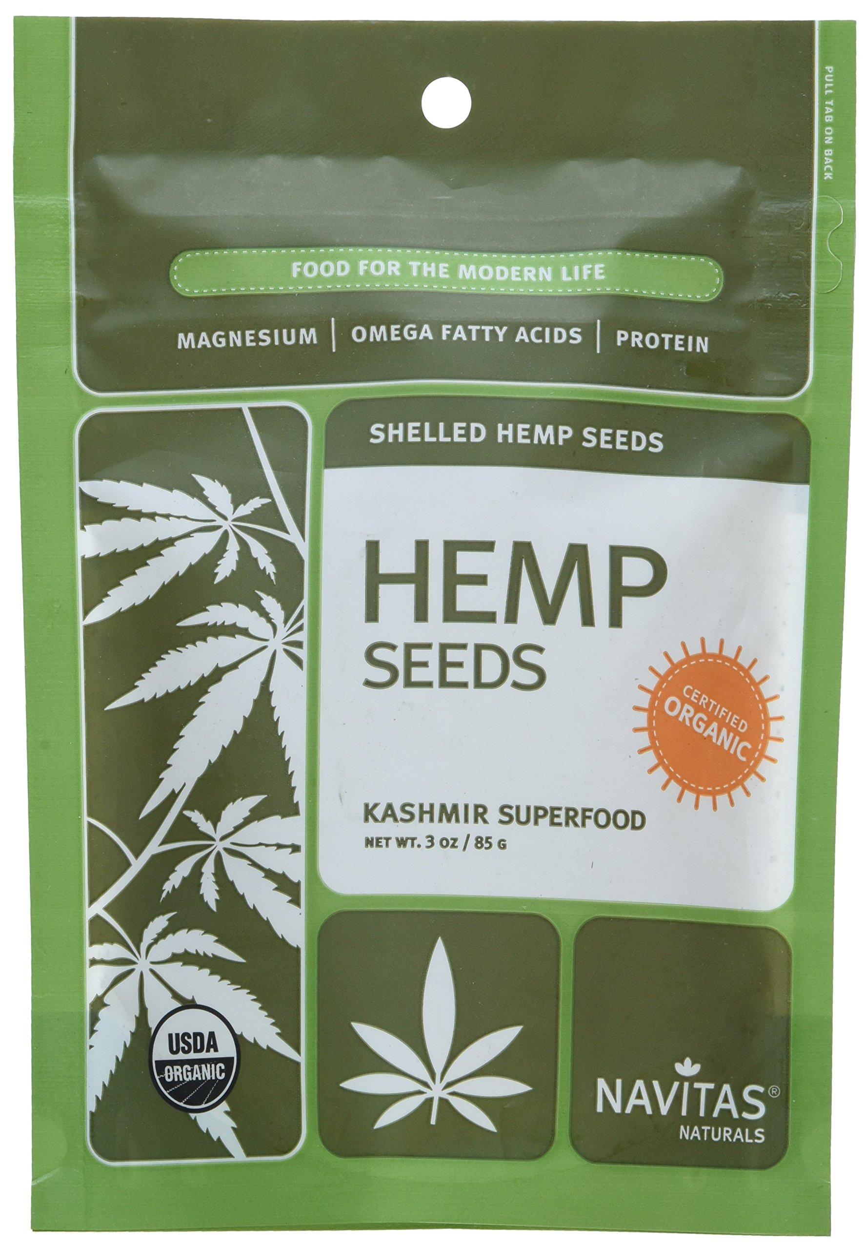Navitas Hemp Seeds - 3 Oz, 3 Ounce