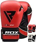 RDX Gants de Boxe Muay Thai kickboxing Sac Frappe Gant Sparring Entrainement Mitaines Competition Maya Hide Cuir Boxing Gloves