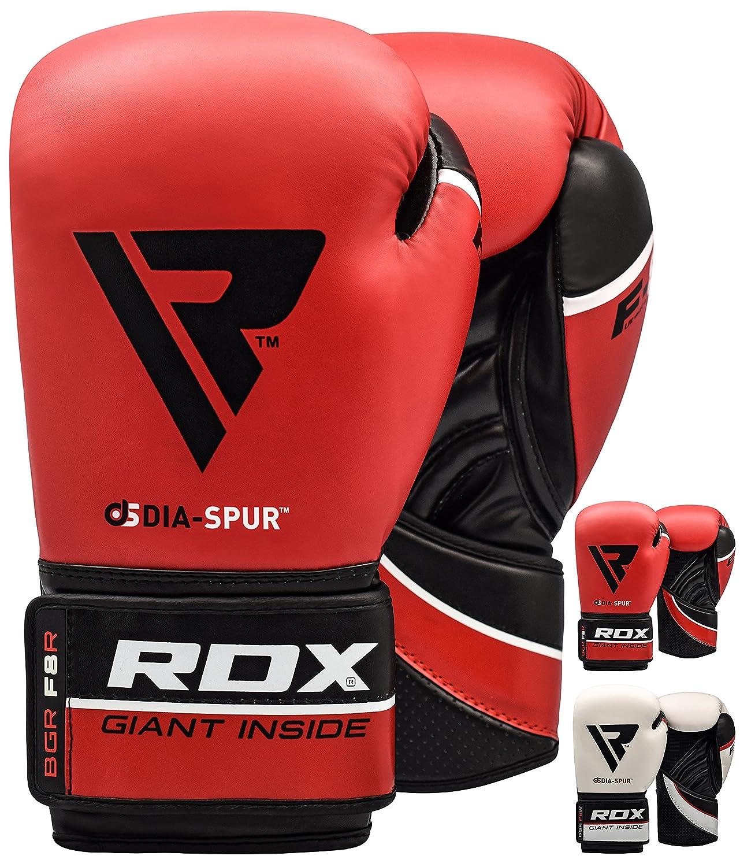 RDX Guantes de Boxeo Kick Boxing Muay Thai Sparring Entrenamiento Saco Adulto