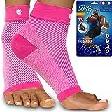 Bitly Plantar Fasciitis Compression Socks for Women & Men - Best Ankle Compression Sleeve, Nano Brace for Everyday Use…