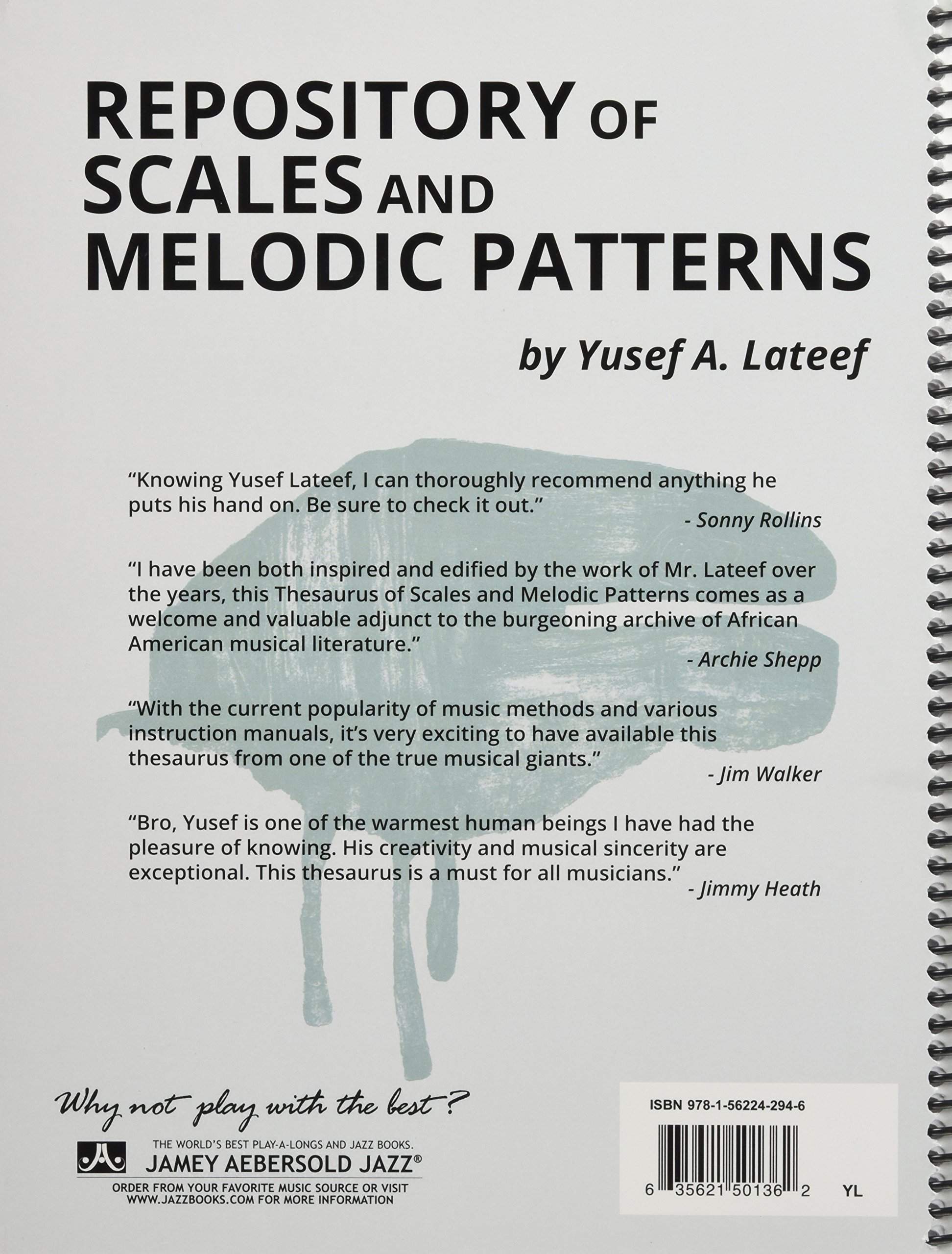 Repository of Scales and Melodic Patterns: Spiral-bound Book: Yusef A.  Lateef: 9781562242947: Amazon.com: Books