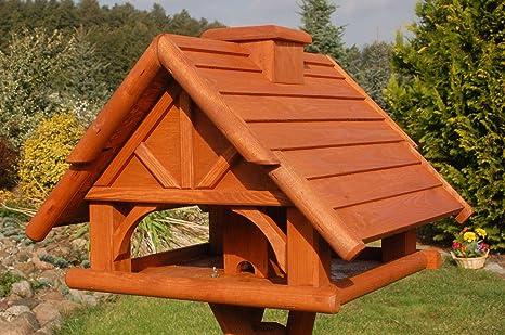 Deko-Shop-Hannusch KO-L-O Mangeoire /à oiseaux en bois