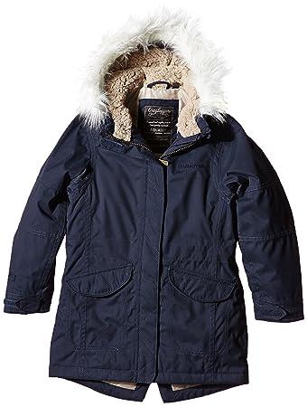craghoppers girl s kyle parka jacket amazon co uk sports outdoors