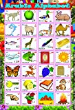 Huge Laminated Know / Learn Arabic Language Alphabet Madrassah Educational Kids Poster Wall Chart