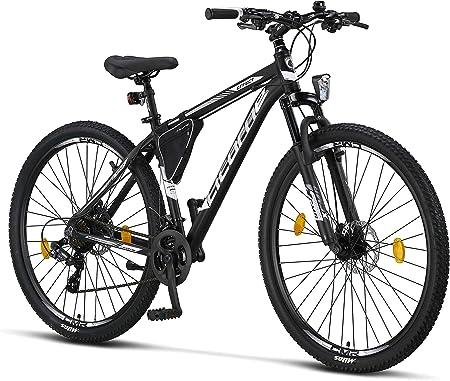 Licorne - mountain bike premium per bambini, bambine, uomini e donne, con cambio shimano a 21 marce B08JY3X5JV