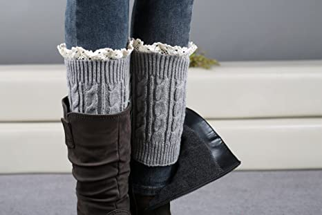 1 6 COPPIA Donna Misto Cotone Colore Calzini Elastico Caldi Invernali Donna Caviglia Lunghezza S