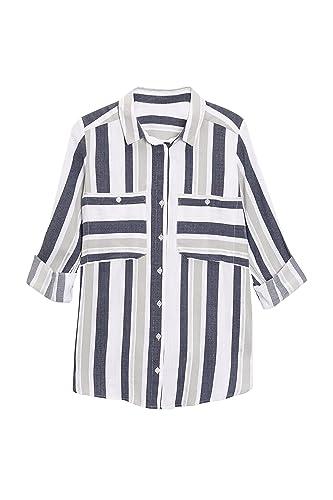 next Mujer Camisa Rayas Petite
