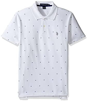 99cc02818 Amazon.com: U.S. Polo Assn. Men's Big and Tall Big & Tall Printed Short  Sleeve Classic Fit Pique Polo Shirt: Clothing