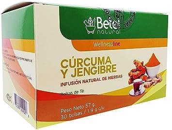 Amazon.com: Turmeric and Ginger Tea (Te de Curcuma y ...