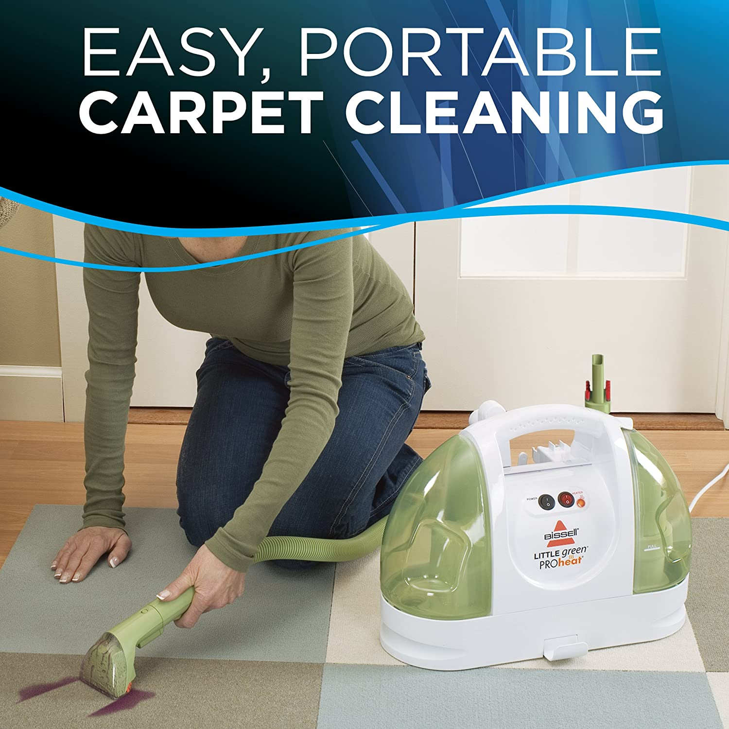 Amazon BISSELL Little Green ProHeat Portable Carpet and