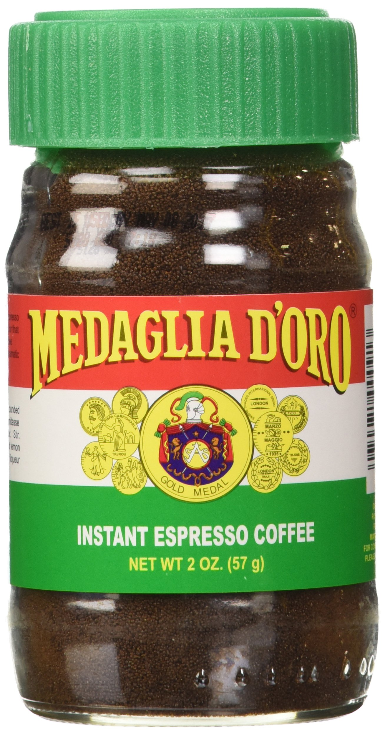 Medaglia D'Oro Instant Espresso Coffee, 2-Ounce Jars (Pack of 6) by MEDAGLIA D'ORO