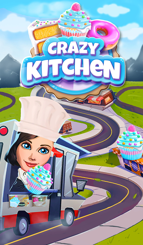 Amazon.com: Crazy Kitchen: Match 3 Puzzles: Appstore for Android