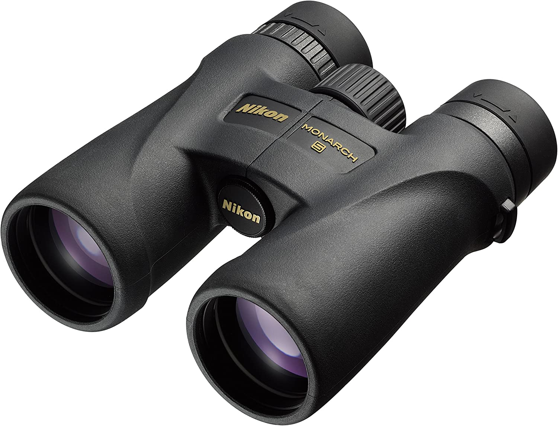 Nikon Monarch 5 Binoculares,  Ampliación 10x, Diámetro objetivo 42 mm, Negro
