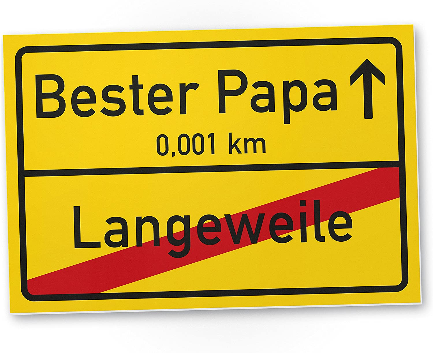 Thank You Bester Papa Place Sign 30 X 20 Cm Plastic Door Sign Gift Idea Birthday Gift Dad Dad Wall Decoration For The Office Office Room Bedroom Home Decoration Amazon Co Uk Kitchen Home