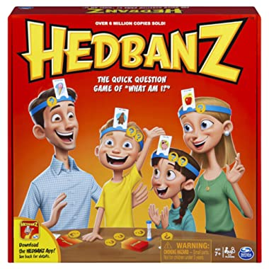 HedBanz Family Quick Question Guessing Board Game (Edition May Vary)