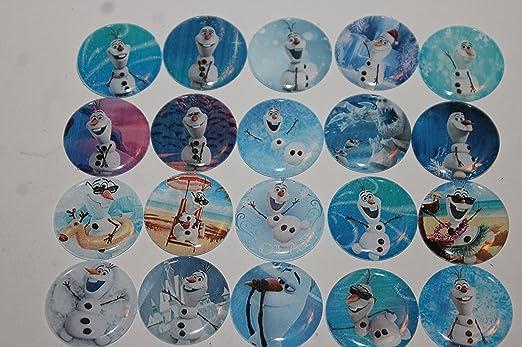 Frozen Tema inspirado imanes para nevera - Olaf de 20 piezas ...