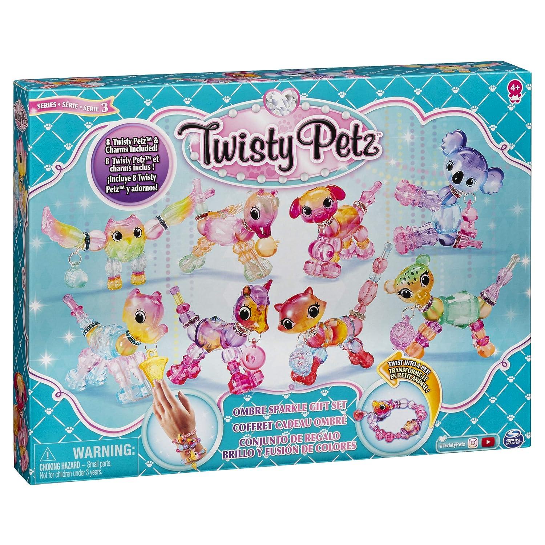 Serie 3 dai 4 Anni Twisty Petz Braccialetto Trasformabile Confezione Regalo da 8 Pezzi