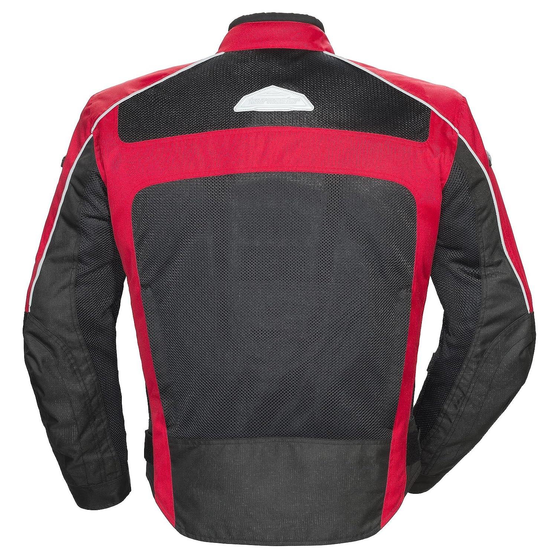 Red//Black XXL Tour Master Draft Air 3 Mesh Summer Jacket