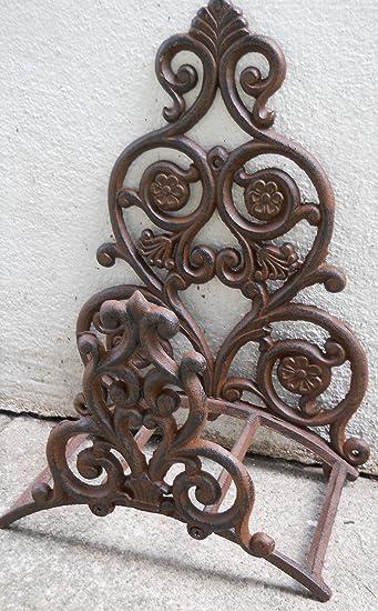 Great Fancy Iron Garden Hose Holder Wall Hose Hanger Reel