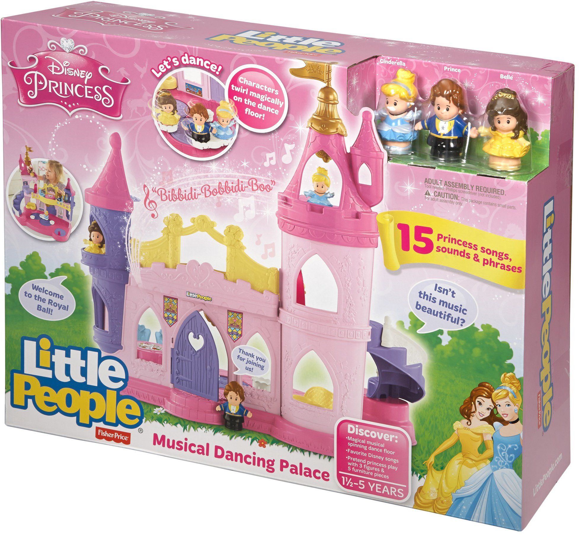 Fisher-Price Little People Disney Princess, Musical Dancing Palace by Fisher-Price (Image #25)