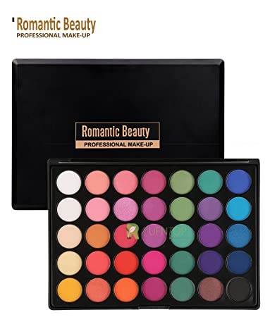 f4de5229ff6d Romantic Beauty Pro 35 Colors Eyeshadow Palette Eye Shadow Powder Make Up  Waterproof...
