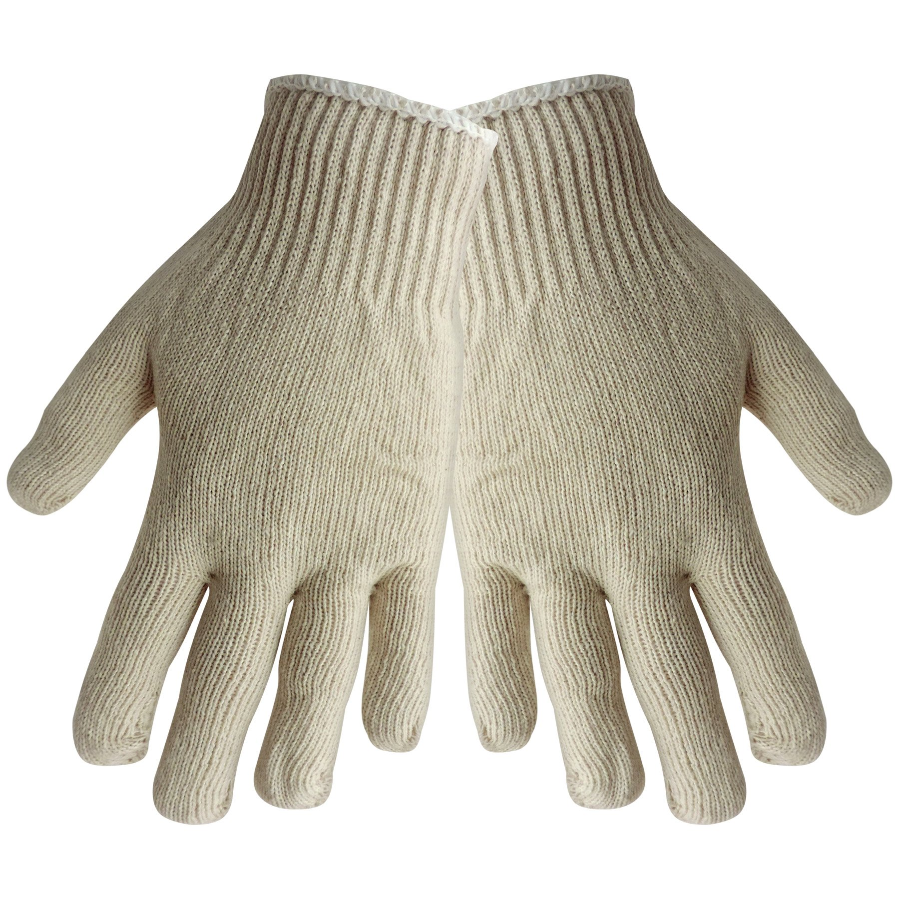 Global Glove S400 Economy Weight String Knit Glove, Work, Womens, Gray (Case of 300) by Global Glove