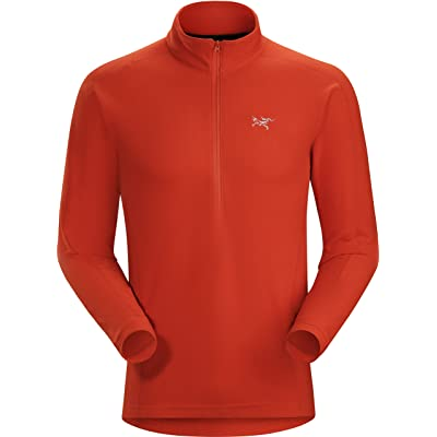 Arc'teryx Delta LT Zip Men's (Ember, Large): Clothing