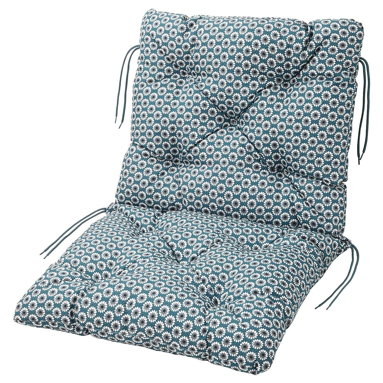 Ikea YTTERON Seat/Back Cushion, Outdoor, Blue, 8x8 cm (8 8/8x89