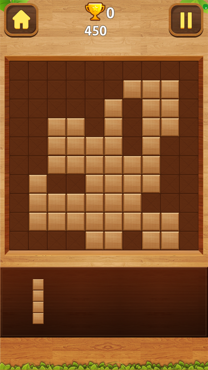 Wood Block Puzzle - Wood Legend Free Puzzle - Woody Tertis ...